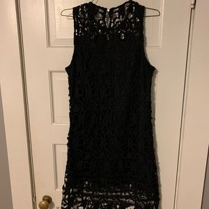 Lace Black Dress